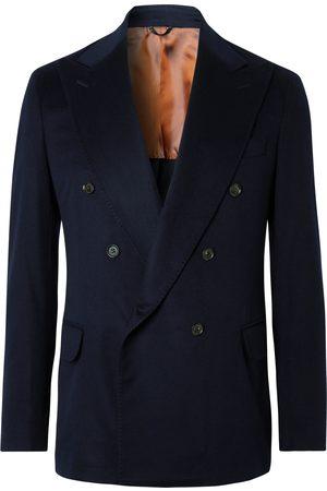 Loro Piana Double-Breasted Cashmere Blazer