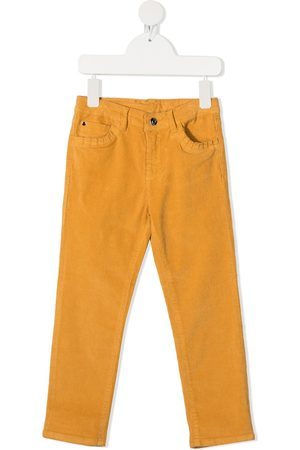 KNOT Straight-leg corduroy trousers