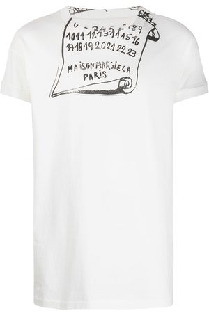 Maison Margiela Scroll print T-shirt