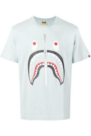 A BATHING APE® Sad shark-print T-shirt