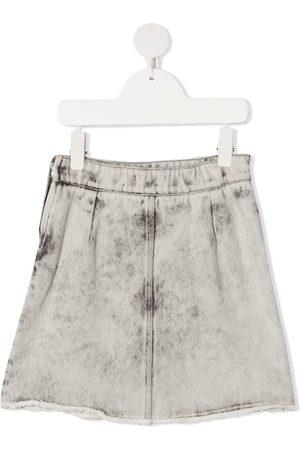 Le pandorine Stonewashed denim skirt
