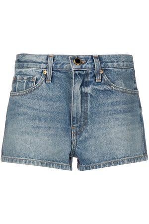 Khaite Santa Cruz denim shorts