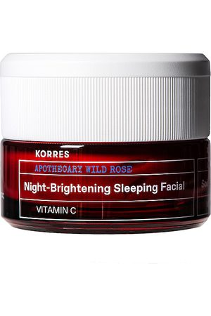 Korres Wild Rose Night-Brightening Sleeping Facial in /A - Beauty: NA. Size all.