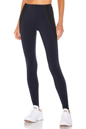 Spanx Mesh Contour Legging in - Navy. Size M (also in S, XS).