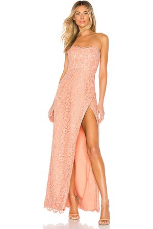 NBD Marry Gown in - Peach. Size L (also in XXS, XS, S, M, XL).