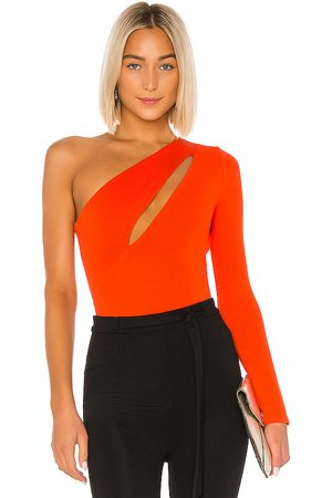 NBD Senhora Bodies interiores - Aaliyah Bodysuit in - Orange. Size M (also in XS).