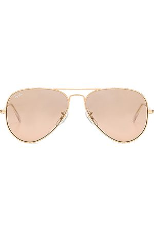 Ray-Ban Aviator Gradient in - Brown. Size all.