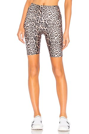 Onzie High Rise Bike Short in - Brown. Size M/L (also in S/M, XS).