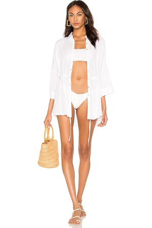 L*Space Senhora Vestidos Casual - Pacifica Shirt Dress in - . Size M/L (also in XS/S).