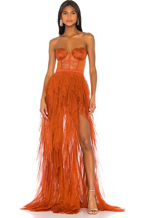 For Love & Lemons X REVOLVE Bustier Gown in - . Size L (also in M, S, XL, XS).