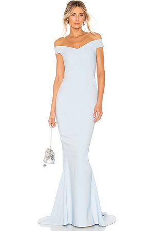 Nookie X REVOLVE Allure Gown in - Baby Blue. Size M (also in S, XS).