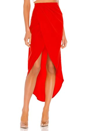 superdown Senhora Saias Compridas - Arielle Slit Maxi Skirt in - . Size XL (also in XXS).