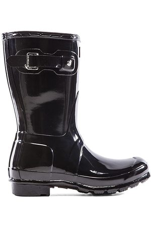 Hunter Original Short Gloss Boot in - . Size 10 (also in 6, 7, 8, 9).