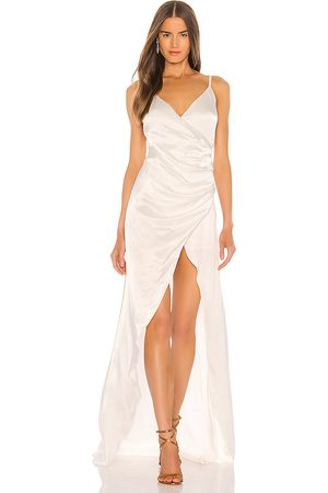 Sau Lee Savannah Gown in - White. Size 0 (also in 10, 2, 4, 6, 8).