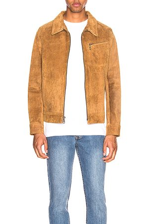Schott NYC Duke Unlined Rough Suede Jacket in - . Size L (also in M, XL).