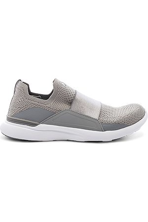 APL Athletic Propulsion Labs Techloom Bliss Sneaker in - Grey. Size 10 (also in 5, 5.5, 6, 6.5, 7, 7.5, 8, 8.5, 9, 9.5).