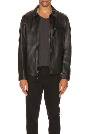 Schott NYC Collar Lamb Leather Jacket in - . Size L (also in S, XL).