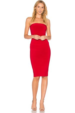 Norma Kamali Mulher Vestidos Caicai - X REVOLVE Strapless Dress to Knee Dress in - . Size L (also in M, S, XL, XS).