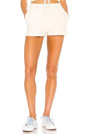 Lovers + Friends Tasha Shorts in - Cream. Size L (also in XXS).