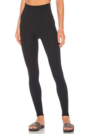 Beyond Yoga Take Me Higher Long Legging in - Black. Size L (also in M, S, XS).