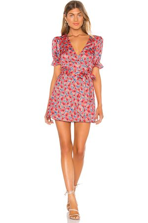 House of Harlow X REVOLVE Aja Mini Dress in - Red. Size L (also in XS).