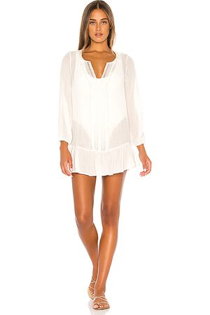 Eberjey Summer Of Love Elba Dress in - Ivory. Size L (also in M, S).