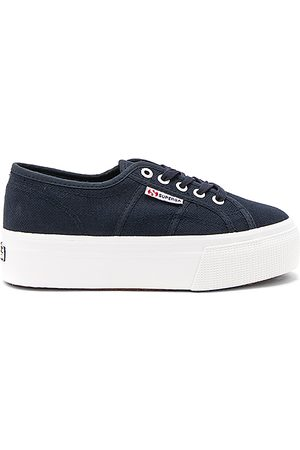 Superga 2790 Platform Sneaker in - Blue. Size 10 (also in 6, 6.5, 7, 7.5, 8, 8.5, 9.5).