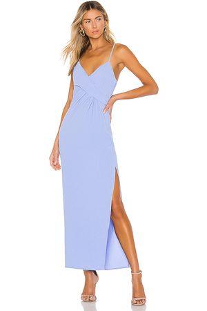 NBD Saanvi Gown in - Blue. Size XS (also in XXS).