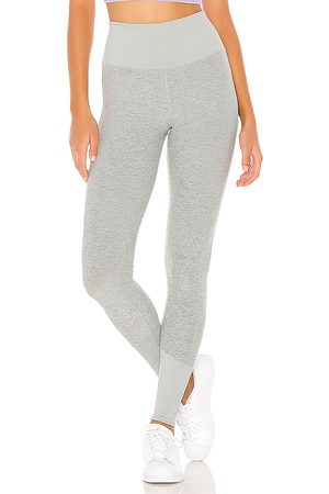 alo High Waist Lounge Legging in - Gray. Size L (also in M, XS).