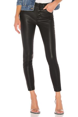 BLANK NYC Vegan Leather Pant in - Black. Size 24 (also in 25, 26, 27, 28, 29, 30, 31).