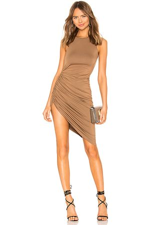 Lovers + Friends Eva Midi Dress in - Tan. Size L (also in M, S, XL).