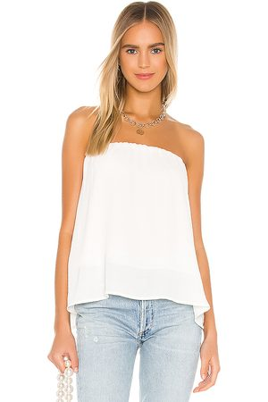 krisa Split Back Strapless Top in - . Size L (also in M, S, XS).