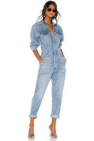 Citizens of Humanity Marta Jumpsuit in - Blue. Size L (also in S, M).