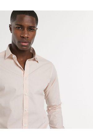 Bolongaro Slim fit classic shirt-Pink