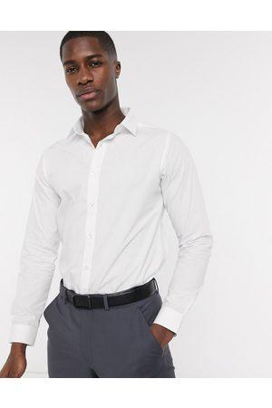 Bolongaro Slim fit classic shirt-White