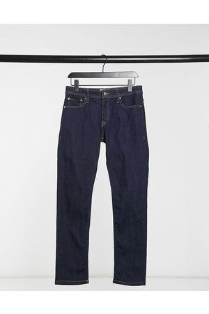 Jack & Jones Intelligence Glenn slim fit jeans in vintage indigo-Blue