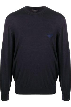 Prada Logo knitted jumper