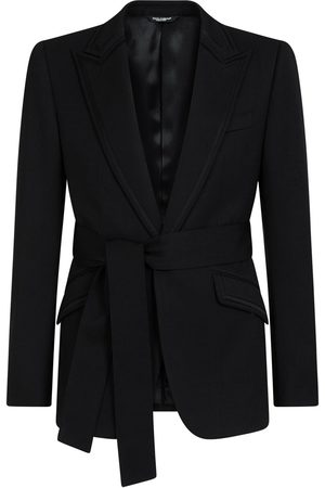 Dolce & Gabbana Belted single-breasted blazer