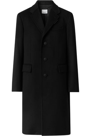 Burberry Single-breasted notch-lapel coat