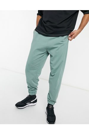 ASOS Homem Joggers - Co-ord oversized joggers in washed green-Blue