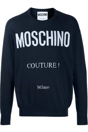 Moschino Logo-print jumper