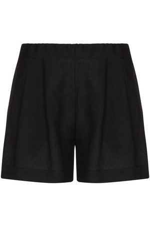 ASCENO Zurich organic linen shorts