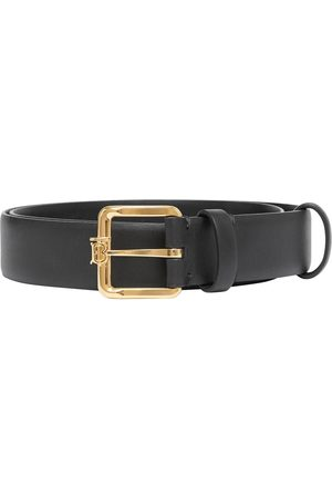 Burberry Senhora Cintos - Monogram-buckle belt