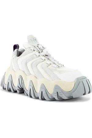 Eytys Homem Tops de Cavas - Halo Suede Sneaker in - Gray,White. Size 40 (also in 41, 42, 43, 44, 45).