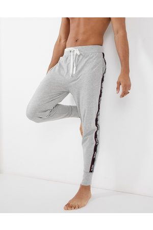 Polo Ralph Lauren Homem Joggers - Skinny jogger in grey with taping side stripe