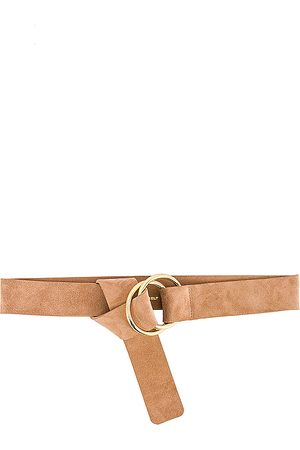 B-Low The Belt Tumble Suede Belt in - Tan. Size M/L (also in S/M).