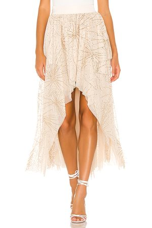 Free People Senhora Saias - Can't Stop The Feeling Skirt in - Ivory. Size L (also in S, M, XS).