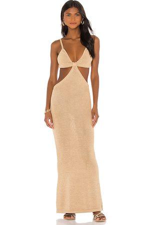 Cult Gaia Serita Knit Dress in - Tan. Size M (also in S).