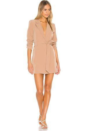 Camila Coelho Senhora Blazers - Davide Blazer Dress in - Tan. Size L (also in M).