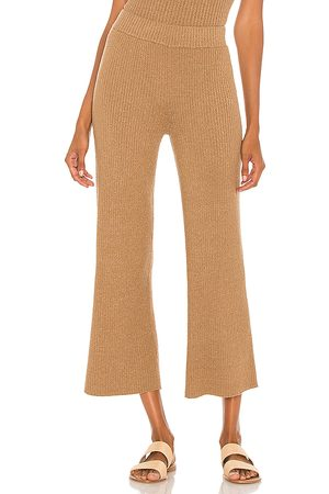 Lovers + Friends Catalina Pant in - Brown. Size L (also in M, S, XL, XS).